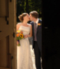 Shari: wedding kiss!