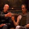 Saul & Bill Toast On Couch
