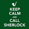 Kelly: keep calm sherlock