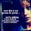 Not pretty (Buffy)