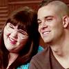 Lauren and Puck // Luck // Glee