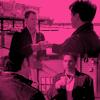 manikineko: IantoJack meet up pink background