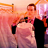 manikineko: Ianto and wedding dress
