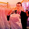 manikineko: Ianto and wedding dress