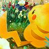 Pikachu ; French print