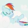 rainbow dash chill