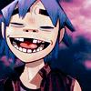 mad_vain: gorillaz // 2D // smile like you mean it