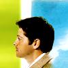 Mish: Castiel -- Profile Green & Blue