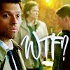 Mish: Castiel -- WTF?!?