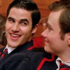 Glee: Kurt/Blaine: smiling during BICO