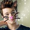 haruechan: Glitterkitty = Kitty!Kurt