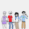 ☆ [homestuck] single book of matches