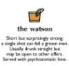formerly lifeinsomniac: WatsonCocktail