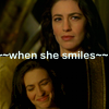Bizarra: Aeryn when she smiles