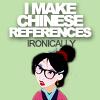 Funny: hipster Mulan