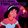 DISNEY♕YOU READ TWILIGHT?!