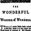 wonderful wonder