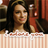 Laura: Glee - Rachel adores you