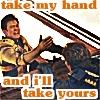 kirk/sulu take my hand