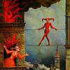 Devil on a tightrope