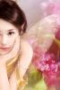 cheerful bright fairy