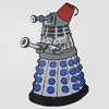 The Graduate: DW Dalek fez- by canarycream