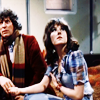 Wine gums, envy, pieces of rainbow: Doctor and Sarah Jane