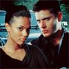 Betty: Martha & Dean in front of Impala