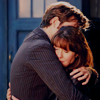 Lenre Li: Doctor and Sarah Jane hug