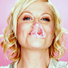 [actor] amy poehler bubblegum