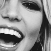 ♀ britney spears | close up smile.