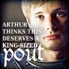 King Pout Arthur