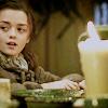 Arya - dinner flinging fiend