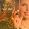 Bogwitch: BTVS - Buffy (Angel's Was This Big)