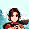 ☆: Chun-Li → Happy with tea