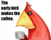 funny userpic, early bird, essay