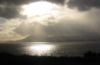 silver irish sunset over bantry