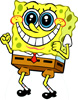 Des: Excited SpongeBob