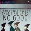 The journeywoman lives here: [HP] Up to no good