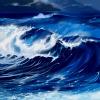 Stock - Crashing waves