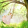 Stephanie: Pictures - girl on swing