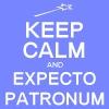 KEEP CALM: Expecto Patronum!
