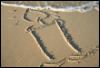 свеча на песке