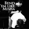 Deni: Misha/Jared - Bend 'em like Misha!