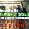 Sherlock Mycroft fanged servant