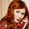 Doctor Who - Amy on the phone