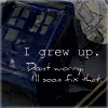 iwouldbegood: Doctor Who Eleven I grew up