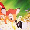tonicangel: Disney // Bambi & Flower