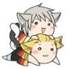 Nekotalia - Germany and Prussia happy