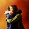 "Swedish for ""Smith"": SPN brothers hugging"